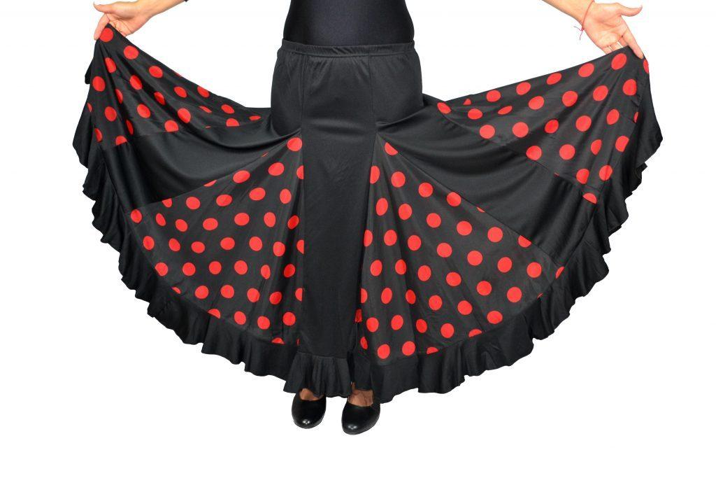 c7f66ae849 Falda de mujer para flamenco o sevillanas con mucho vuelo