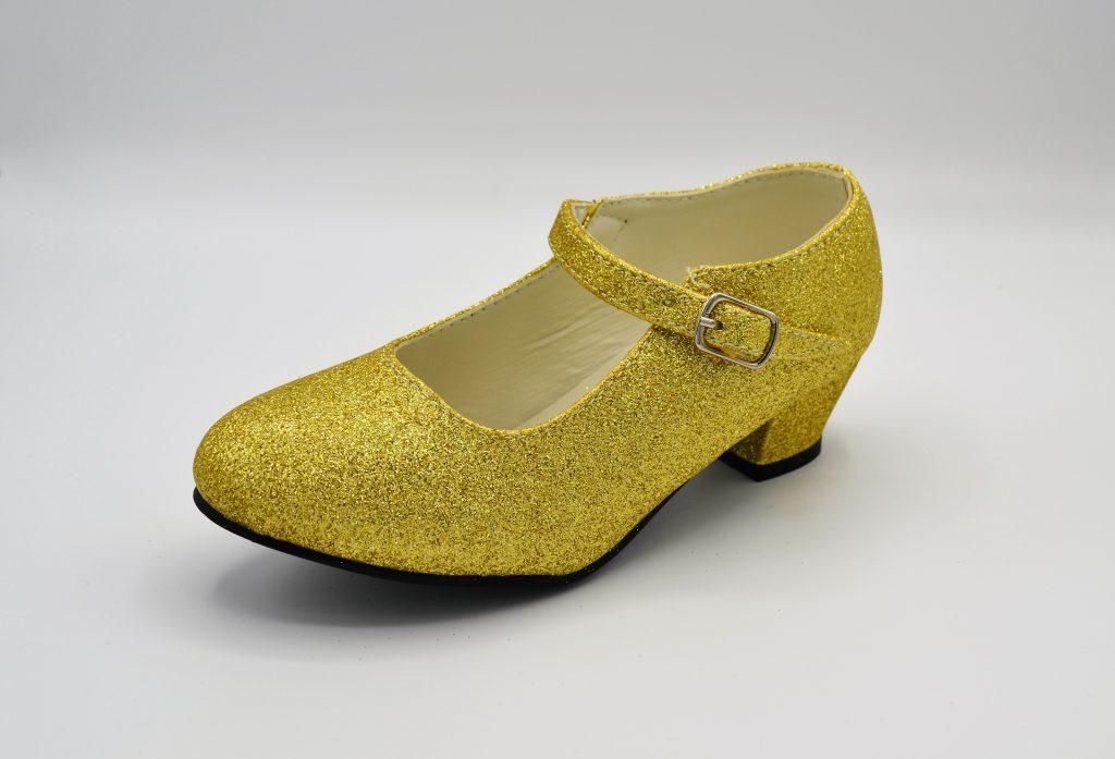 638ea639b Zapatos niña de purpurina